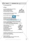 Im Zirkus -  Führerschein-Vortest: Lesekompetenz, Texte: Vortest Preview 1