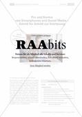 medien und mediennutzung im deutschunterricht kritisch analysieren raabits deutsch online. Black Bedroom Furniture Sets. Home Design Ideas