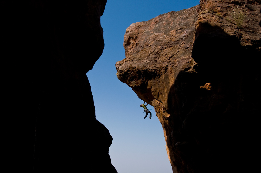 Alex CHABOT, Badami Deluxe 8b+ Photo: SAM BIÉ