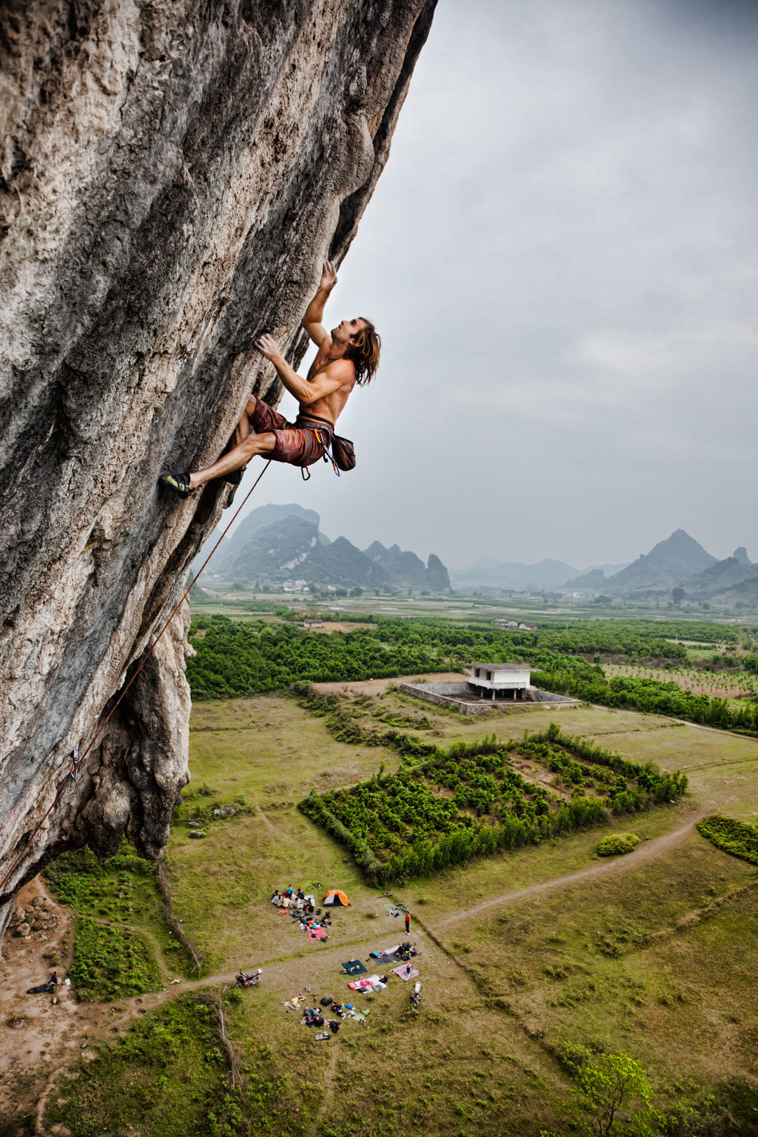 Chris SHARMA, Spicy Noodle 5.14b Photo: BOONE SPEED