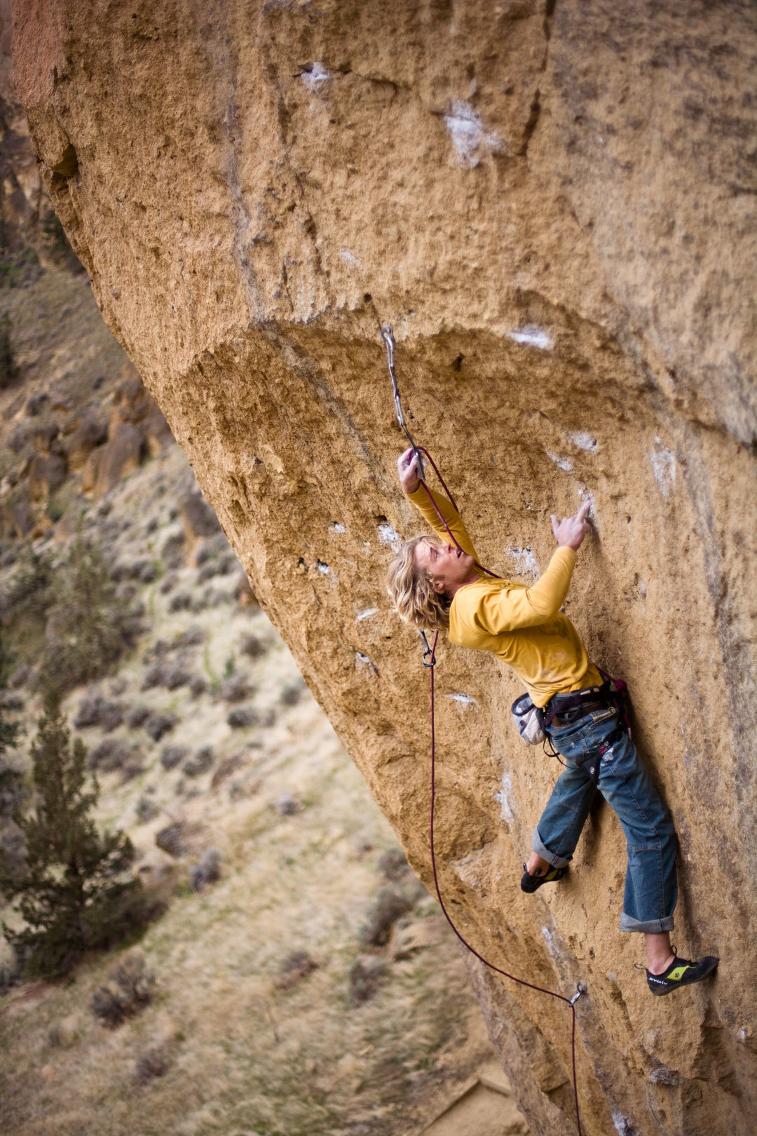 Chris Lindner, Rude Boys 5.13b Photo: BOONE SPEED