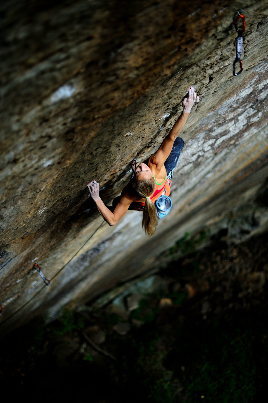 SASHA DIGIULIAN, Pure Imagination 5.14d Photo: KEITH LADZINSKI