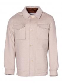 Unisex - Relaxed wool-blend shirt j