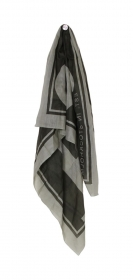 Shawl, woven, soft modal, printed