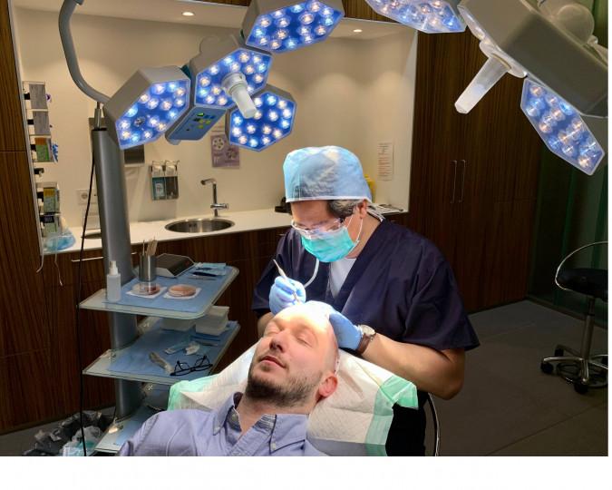 Haartransplantatie voor en na foto - 40708