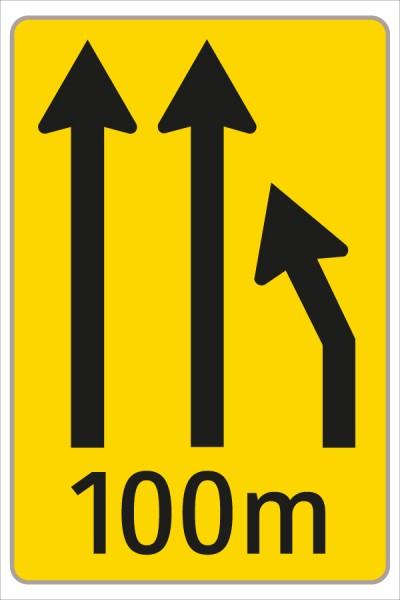 §53/16c Fahrstreifenanzeiger gelb – schwarz F3