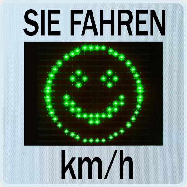 Geschwindigkeitsanzeige GR33CL | Sierzega