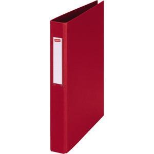 Ringbuch, PP-kasch., A4, 4-R-Reißmech., Ring-Ø: 25mm, rot