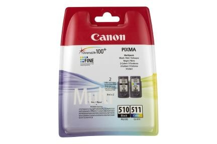 Canon PG510/CL511 Multi Pack 1x2