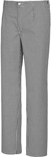 Koch-/Bäckerhose 1353 910Gr.48, schwarz/weiß