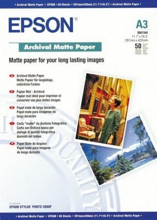 Epson Archival Matte Pap. A3 1x50