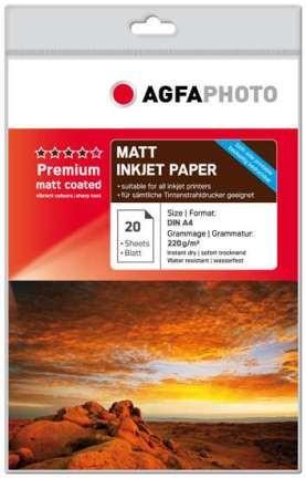 AgfaPhoto Inkjet Photo Paper A4 1x20