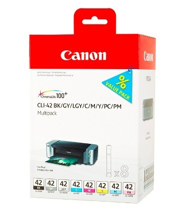 Canon Ink Multi Pack BK/C/M/Y/PC/PM/GY/LGY