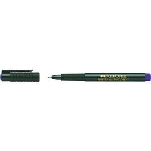 Fineliner Finepen 1511, Kappe, 0,4mm, Schreibf.: blau