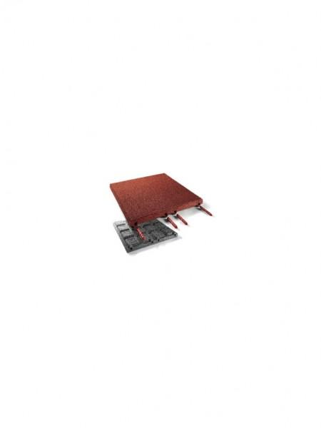 Steckverbinder für Fallschutzplatte rot