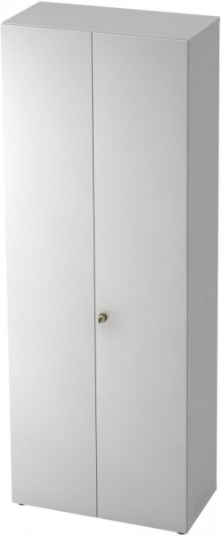 Garderobe Profi Weiß 6 OH, 80x42x215,6mm