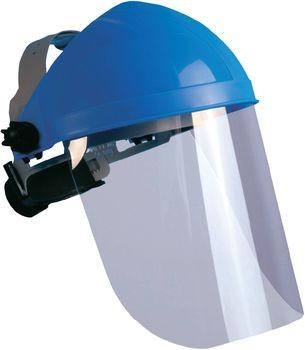 L+D 2669 Schutzvisier Blau, Transparen