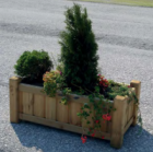 Pflanzbehälter, Baumschutz und Begrünung