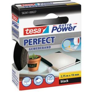 Gewebeband extra Power®, sk, 19mmx2,75m, schwarz