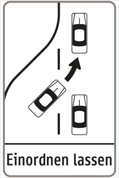 §53/23c Fahrstreifenverminderung
