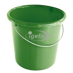 Plastikeimer rund 10l grün