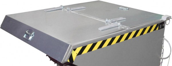 Deckel verzinkt. f. Kippbehälter EXPO 1200