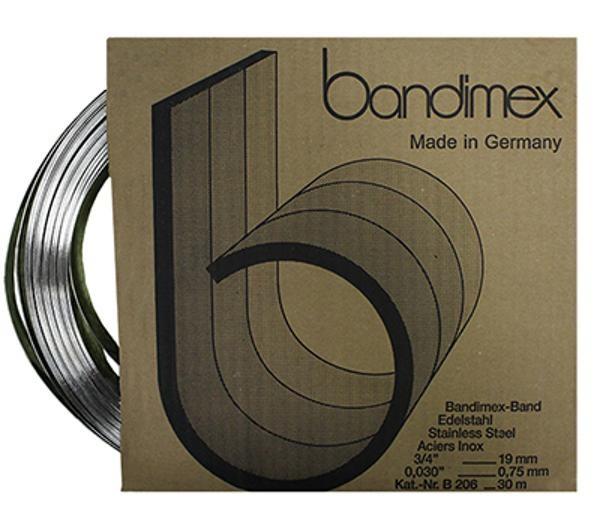 Band-IT-Stahlband 5/8 - 30.0 lfm.