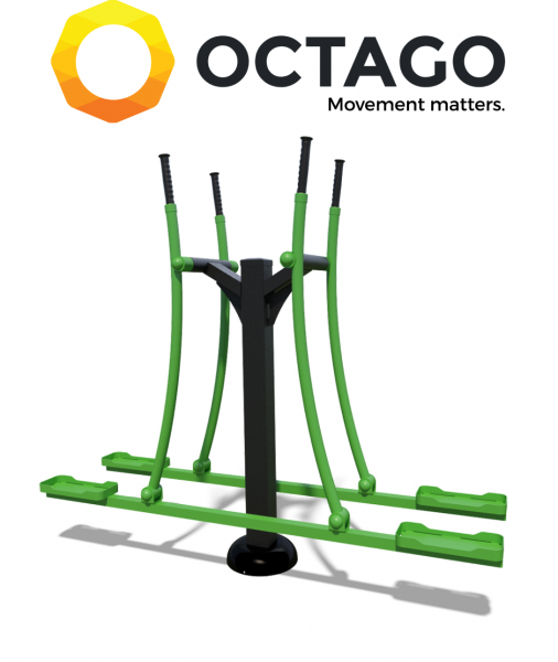 OCTAGO SM144-T Double skier