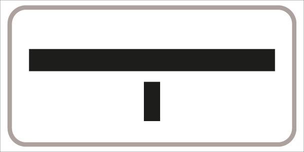 §54/5 Z.T. Querstr. ist Vorrangstraße  __|__