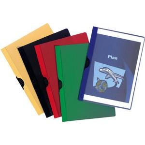 Klemmmappe, A4, für: 1 - 30 Blatt, 5farbig sortiert