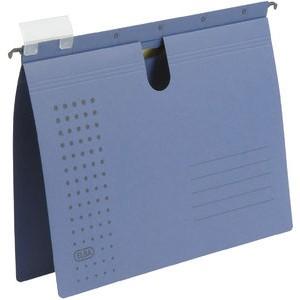 Hängehefter chic, Karton (RC), kaufmännische Heftung, A4, dunkelblau