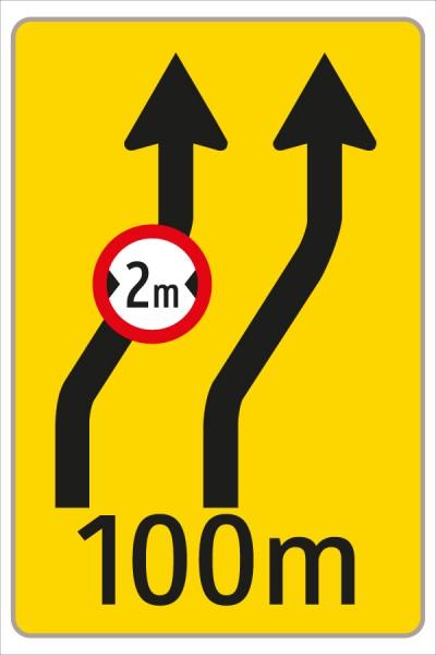 §53/16c Fahrstreifenanzeiger gelb – schwarz F9