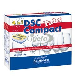 DSC Compact Tabs 4in1 40Stk