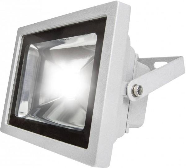 as - Schwabe Chip Led 46925 LED-Außenstrahler 20 W Kalt-Weiß Grau