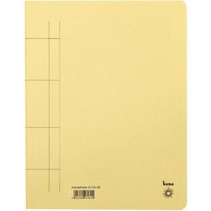 Schnellhefter, Karton (RC), 1/1 Vorderdeckel, A4, gelb
