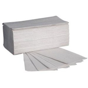 Papierhandtuch, Krepp(RC), ZZ-Falz., 20x250 Tü., 25x23cm, natur