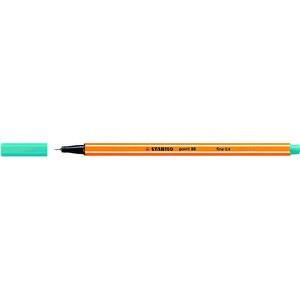 Fineliner point 88®, mit Kappe, 0,4 mm, Schreibf.: türkis