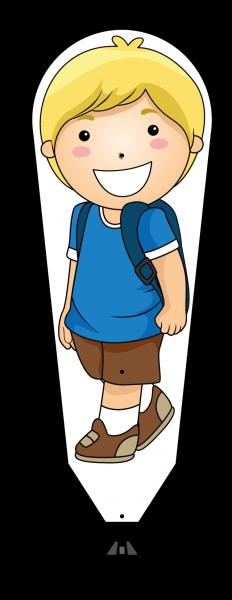 KIDSGetUpBoy Kid BOY Größe: 440x1200 mm (Hautfarbe angeben)| Standard
