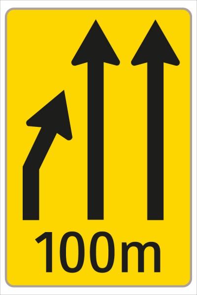 §53/16c Fahrstreifenanzeiger gelb – schwarz F4