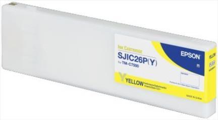 Epson Ink yell. SJIC26P(Y)
