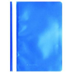 Schnellhefter, PP, transparenter Vorderdeckel, A4, blau