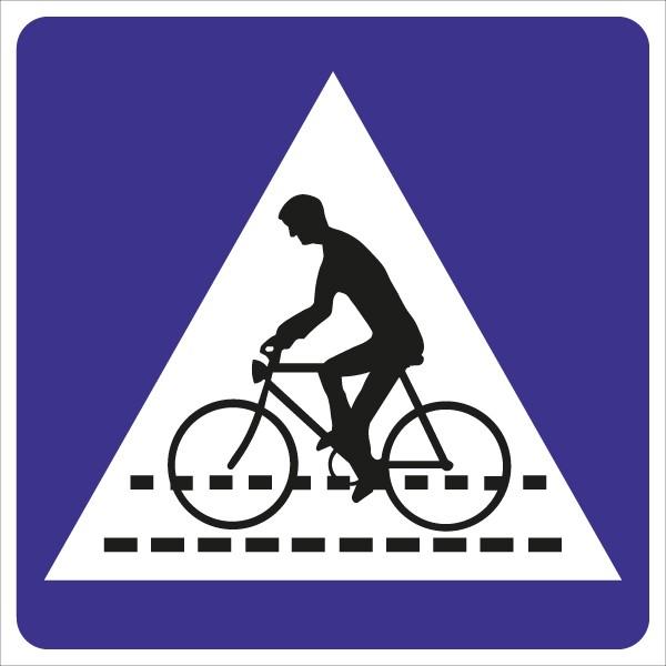 §53/2b Kennzeichnung einer Radfahrerüberfahrt