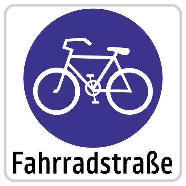 §53/26 Fahrradstraße ANFANG