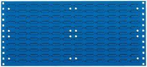 PL-Schlitzplatte RAL 5010,1486x457mm