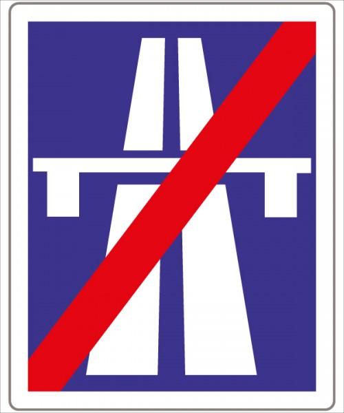 §53/8b Ende der Autobahn