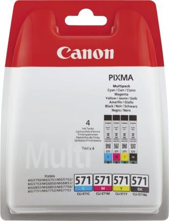 Canon Ink Multi Pack C/M/Y/BK 1x4