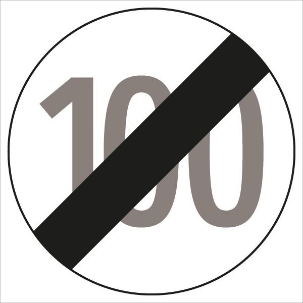 §52/10b Ende der Geschwindigkeitsbegrenzung 100 km/h