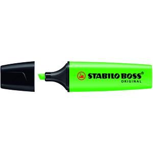 Textmarker BOSS® ORIGINAL, nachfüllbar, Ksp., 2-5mm, Schreibf.: grün