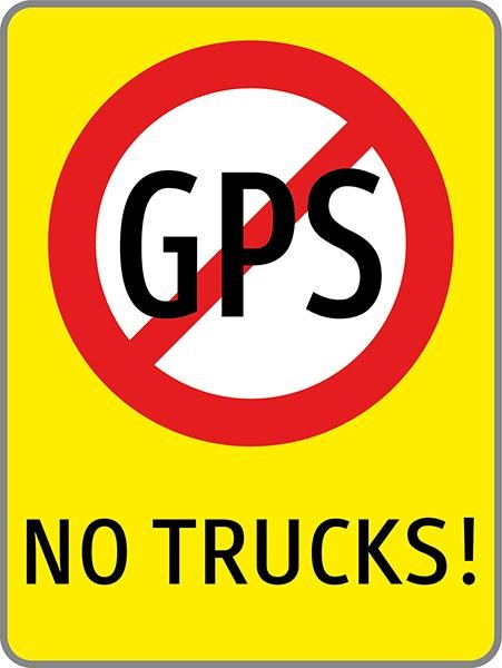 No GPS | C-Sign, gebördelt