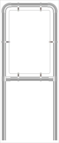 Rohrrahmen D3. 960x1200 mm